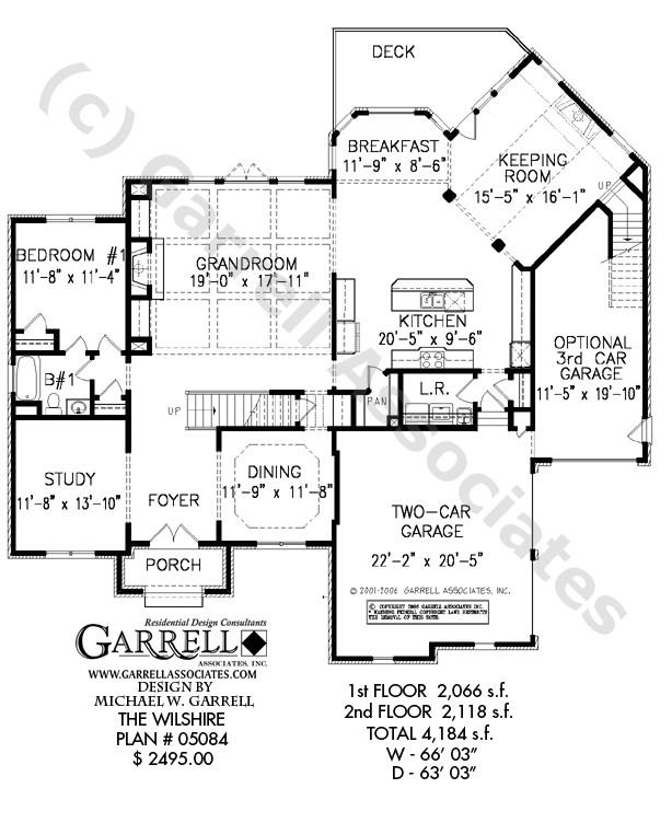 wilshire house plan
