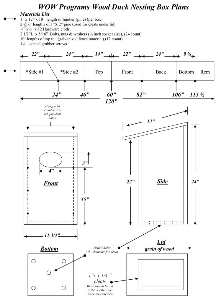 wood duck bird house plans awesome wood duck box plans