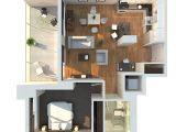 1 Bedroom Home Floor Plans 1 Bedroom Apartment House Plans