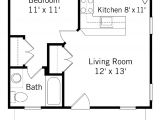 1 Bedroom Home Floor Plans One Bedroom House Plans for You