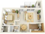 1 Bedroom Home Plans 1 Bedroom Apartment House Plans