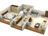1 Bedroom Home Plans 25 One Bedroom House Apartment Plans