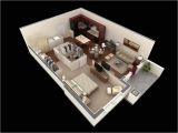 1 Bedroom Home Plans 50 One 1 Bedroom Apartment House Plans Architecture
