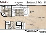 1 Bedroom Mobile Homes Floor Plans 1 Bedroom Single Wide Mobile Home Floor Plans Floor