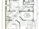 1 Kanal Home Plan Bahria Enclave House 1 Kanal 5 Bed Design Bds 105