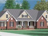 1 Story Brick House Plans Houseplans Biz House Plan 3420 A the Clayton A
