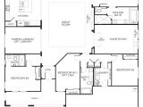 1 Story Home Floor Plan Love This Layout with Extra Rooms Single Story Floor