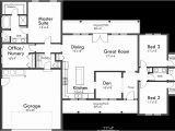 1 Story Home Floor Plan Single Level House Plans One Story House Plans Great