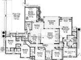 1 Story House Plans with Bonus Room Luxurious Master Suite