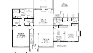 1 Story House Plans with Bonus Room Single Story House Plans with Bonus Room Cottage House Plans