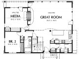 1 Story House Plans with Media Room Unique 1 Story House Plans with Media Room House Plan