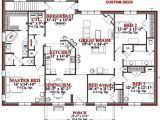 10 Room House Plan 4 Bedroom House Floor Plans and This 2905 Sqaure Feet 4