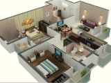 1000 Sq Ft House Plans 3 Bedroom Indian Style 3d House Plans In 1000 Sq Ft Escortsea