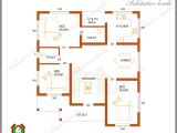 1000 Sq Ft House Plans 3 Bedroom Kerala Style Three Bedrooms In 1200 Square Feet Kerala House Plan