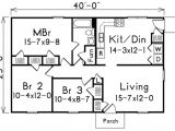 1000 Square Foot 2 Bedroom House Plans 2 Bedroom Bath 1000 Sq Ft House Plans