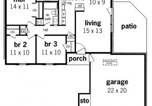 1000 Square Foot House Plans with Basement 1000 Square Foot House Plans No Third Bedroom Make