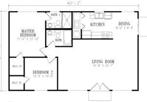 1000 Square Foot House Plans with Basement Mediterranean Style House Plan 2 Beds 2 Baths 1000 Sq Ft