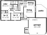 1000 to 1200 Square Foot House Plans 1000 Square Feet House Plans 1200 Square Feet House House