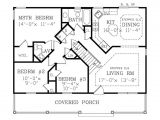 1040 Square Foot House Plans Country Style House Plan 3 Beds 2 Baths 1040 Sq Ft Plan