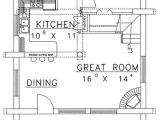 1040 Square Foot House Plans Log Style House Plan 1 Beds 1 00 Baths 1040 Sq Ft Plan