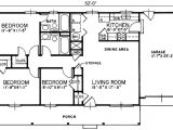 1040 Square Foot House Plans Ranch Style House Plan 3 Beds 2 Baths 1040 Sq Ft Plan