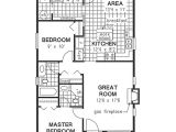 1040 Square Foot House Plans Traditional Style House Plan 2 Beds 2 Baths 1000 Sq Ft