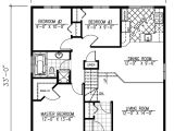 1040 Square Foot House Plans Traditional Style House Plan 3 Beds 1 Baths 1040 Sq Ft