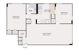 1150 Sq Ft House Plans Floor Plans Fairmount towers Apartments for Rent In