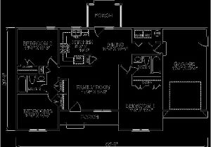1150 Sq Ft House Plans Ranch Style House Plan 3 Beds 2 Baths 1150 Sq Ft Plan