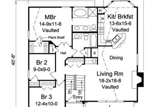 1150 Sq Ft House Plans Traditional House Plan 138 1150 3 Bedrm 1340 Sq Ft Home