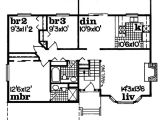 1150 Sq Ft House Plans Traditional Style House Plan 3 Beds 2 Baths 1150 Sq Ft