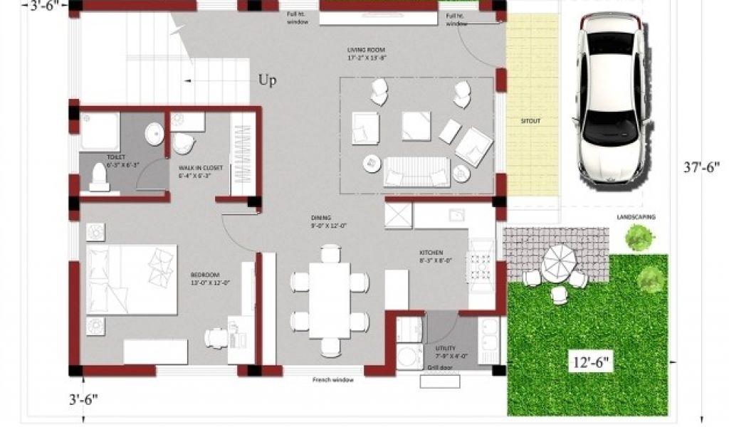 Inspirational 1200 Square Feet House Plan Design - home design