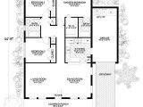 1250 Sq Ft House Plans Mediterranean Home with 3 Bdrms 1250 Sq Ft Floor Plan