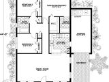 1250 Square Feet House Plans Traditional House Plan 3 Bedrooms 2 Bath 1250 Sq Ft