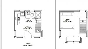 12×12 House Plans 12×12 Tiny House 12x12h5 282 Sq Ft Excellent