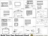 12×20 House Plans 12×20 Shed Plans 12×20 Storage Shed Plans Icreatables Com