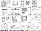 12×20 House Plans Saltbox Shed Plans 12×20 Shed Plans for Free