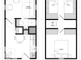 12×24 Tiny House Plans 12 24 Twostory 3
