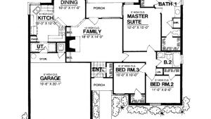 1300 Sq Ft Cottage House Plans Eplans Ranch House Plan Brick Bungalow with Curb Appeal