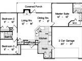 1300 Sq Ft Home Plans Ranch Style House Plan 3 Beds 2 Baths 1300 Sq Ft Plan