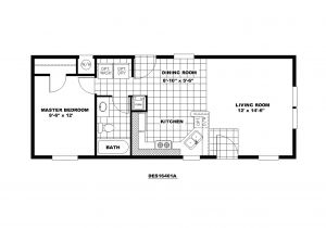 14 X 40 House Plans 14×40 Cabin Floor Plans New Certified Homes Musketeer Home