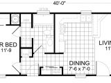 14 X 40 House Plans Second Unit 16 X 40 1 Bed 1 Bath 607 Sq Ft Little