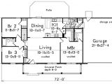 1400 Sq Ft House Plans with Basement Country Style House Plan 3 Beds 2 Baths 1400 Sq Ft Plan