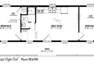 14×40 House Floor Plans 13 39 X 40 39 with 5 39 X 36 39 Porch Very Close Not so Tiny