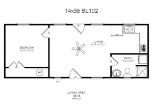 14×40 House Floor Plans 14 X 40 Floor Plans with Loft Bear Lake Series Model 102