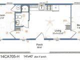 14×40 House Floor Plans 14×40 Cabin Floor Plans Tiny House Pinterest Cabin
