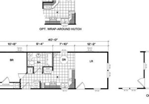 14×40 House Floor Plans 14×40 Cabin Floor Plans Tiny House Pinterest