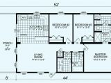 14×60 Mobile Home Floor Plans 2 Bedroom Manufactured Home Plans
