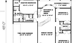 1500 Sq Ft House Plans 3 Bedrooms Ranch Plan 1 500 Square Feet 3 Bedrooms 2 Bathrooms