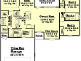 1500 Sq Ft House Plans 3 Bedrooms Ranch Style House Plan 3 Beds 2 Baths 1500 Sq Ft Plan